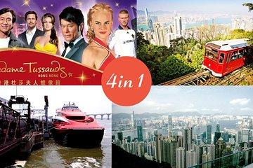 E-Tickets: 2-way HK-Macau ferry, Peak Tram, Madame Tussauds Museum & Sky Terrace