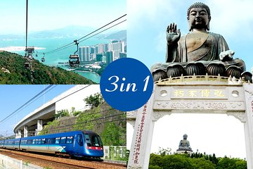 E-Ticket Combo: Airport Express plus Ngong Ping Cable Car