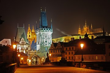 Evening View Walk in Prague