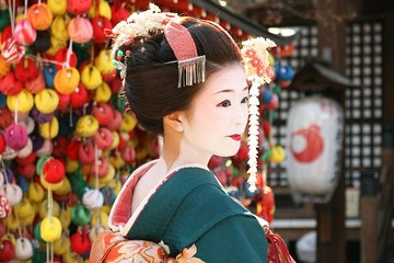 Bus Trip from Osaka/Kyoto to Kyoto Meet Maiko in Gion and Kyoto Tour