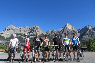 4-Day Bicycle Tour through Canadian Rockies