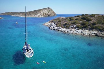 Your Own Private Yacht - Athens Riviera Fun Day Sailing with Lunch & Watersports