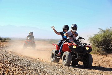 Marrakech Palm Oasis and Desert Quad Bike Adventure