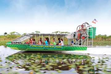 Everglades Airboat Tour & Gator Show from Miami Beach, FL