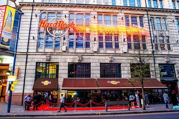 Hard Rock Cafe Manchester Including Meal Tickets
