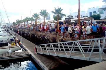 Playa Blanca street market and free time Tickets