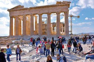 Athens Old Town Small Group Walking Tour: Acropolis, Monastiraki and Plaka