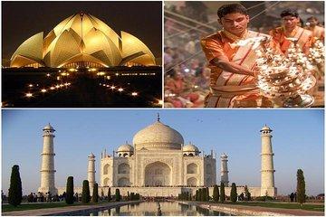 Luxury 11 days Golden triangle & Varanasi with flights from Varanasi-Delhi