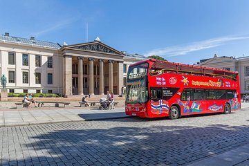 Oslo Shore Excursion: City Sightseeing Oslo Hop-On Hop-Off Bus Tour Tickets