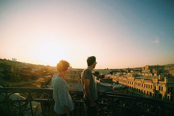 The rooftop tour in St Petersburg