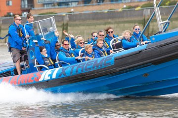 River Thames Fast RIB-Boat Experience in London