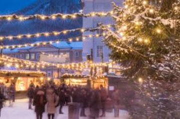 Salzburg Christmas Market.Christmas Markets Tour From Salzburg