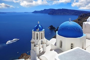 Private Shore Excursion: Best of Santorini Customized Tour