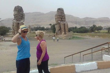 Save 10.00%! day tour to Hatsheput temple, valley of the king & Memnon statue west bank Luxor
