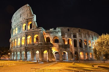 Colosseum Underground by Night: Semi-Private Tour with Arena Floor