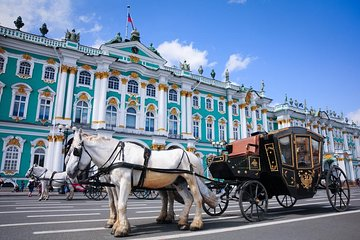 1-Day St. Petersburg PRIVATE ALL INCLUSIVE GRAND TOUR Skip-the-line