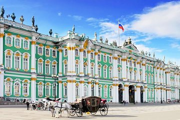 1-Day St Petersburg PRIVATE ALL INCLUSIVE Full Day Tour