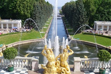 1-Day St Petersburg PRIVATE Tour of Peterhof (Petrodvorets) skip-the-line