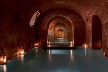 Arabian Baths and 15 min massage at Madrid's Hammam Al Ándalus