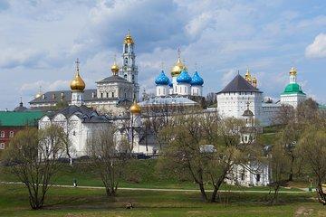 Private Tour: Sergiev Posad Day Trip and Trinity Lavra Monastery of St Sergius Tour