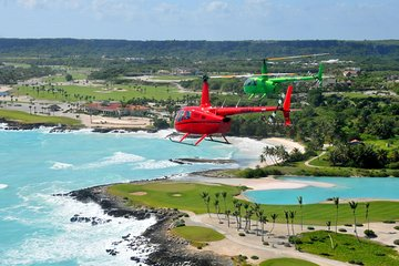 Helicopter Tour from Punta Cana with Hotel Pick-up