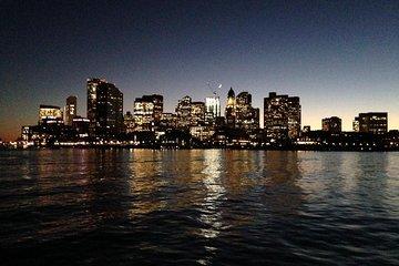 City Lights and Boston Skyline Harbor Sail