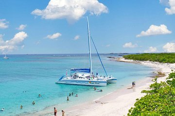 Deserted Island Catamaran Day Sail from Fajardo