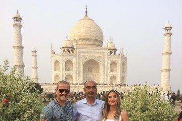 Gatimaan Express Taj Mahal & Agra Fort Private All Inclusive Tour from Delhi