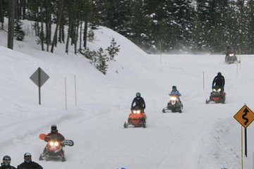 Discover Ontario Winter with a Snowmobile Tour