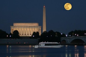 Washington DC by Moonlight Night Cruise