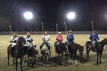 Polo Under the Stars and Argentine BBQ Evening Venue from Buenos Aires