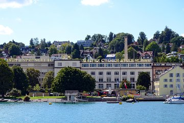 Zurich Visit to the Lindt & Sprungli Chocolate Outlet Shop in Kilchberg by Boat