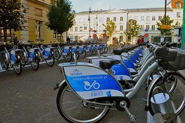 BIKE TOUR PACKAGE: The Royal Way, Old Town Square, Vistula River, Praga district