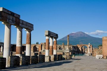 Full day tour to Pompeii and Mt Vesuvius from Sorrento