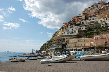 Discover Sorrento coast, Positano and Amalfi Cruise from Naples