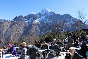 Everest Heli Tour with Breakfast in Hotel Everest View