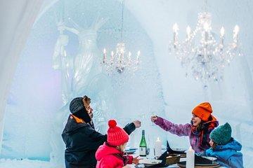 Arctic Snowcastle with Dinner in Ice...