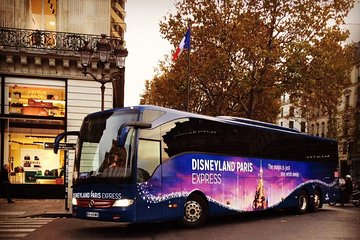 Disneyland® Paris Express Shuttle with Admission Ticket from Central Paris