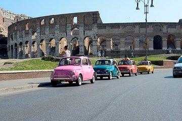 Rome Vintage Fiat 500 Self-Drive Tour by Convoy