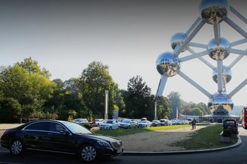Private Arrival Transfer from Brussels Airport or city to Antwerp with Business car