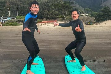 Intermediate Surf Lessons In Marin