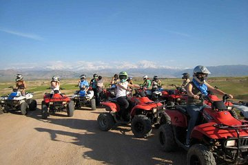 Quad Bike Adventure To Agafay Desert & Takerkoust Lake In Marrakech