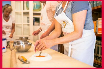 Private cooking class at a local's home with lunch or dinner in Rome