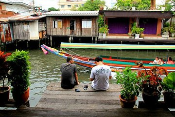 Bangkok Canal Tour by Boat and Bike Tickets