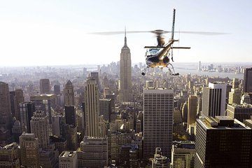 Private New York City Helicopter Sightseeing Experience with Champagne Toast
