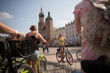 Krakow Bike Tour of the Old Town, Jewish Quarter, and the Ghetto Tickets