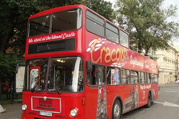 Krakow: Hop-On Hop-Off Sightseeing Bus Ticket