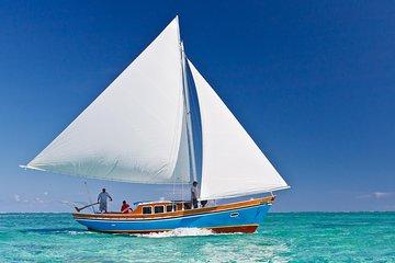 Hol Chan Marine Reserve Snorkel Tour on the 40' Sirena Azul Sailboat
