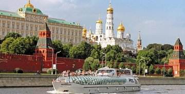 All-inclusive private tour: Moscow Highlights Overview tour and River Cruise
