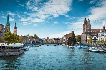 Zurich Tour: 6 hours on shore, on water, in the air!